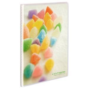 ハクバ Pポケットアルバム NP  2Lサイズ 20枚収納 キャンディ2 APNP-2L20-CA2 4977187527186|hakuba