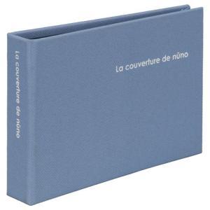 【アウトレット 訳あり特価】ハクバ ポケットアルバム nuno poche(ヌーノ ポッシュ) Lサイズ 40枚収納 ブルー ANN2-L40BL 4977187534504|hakuba