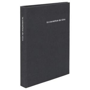 【アウトレット 訳あり特価】ハクバ ポケットアルバム nuno poche(ヌーノ ポッシュ) KG(ハガキ)サイズ 80枚収納 グレー ANN2-KG80GY 4977187534672|hakuba