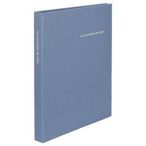 【アウトレット 訳あり特価】ハクバ ポケットアルバム nuno poche(ヌーノ ポッシュ) 2Lサイズ 80枚収納 ブルー ANN2-2L80BL 4977187534757|hakuba