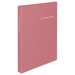 【アウトレット 訳あり特価】ハクバ ポケットアルバム nuno poche(ヌーノ ポッシュ) 2Lサイズ 80枚収納 ピンク ANN2-2L80PK 4977187534764|hakuba