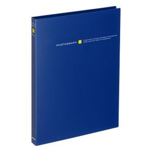 ハクバ ビュートプラス Lサイズ 56枚収納 ネイビー ABP-L56NV 4977187535501|hakuba