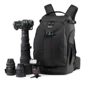 【アウトレット 訳あり特価】【送料無料】Lowepro(ロープロ) カメラバッグ フリップサイド 500AW ブラック 0056035364129|hakuba