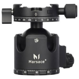【アウトレット 訳あり特価】Marsace(マセス) 自由雲台XB-2R 6920231100062 高精度ロープロファイル自由雲台 アルミ削り出し|hakuba