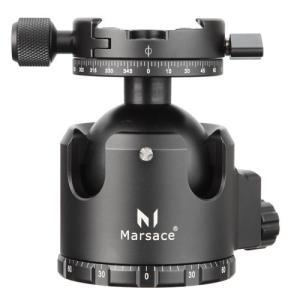 【アウトレット 訳あり特価】Marsace(マセス) 自由雲台XB-3R 6920231100079 高精度ロープロファイル自由雲台 アルミ削り出し|hakuba