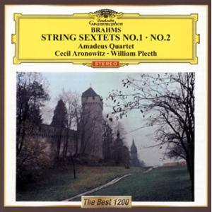 CD)ブラームス:弦楽六重奏曲第1番・第2番 アマデウスSQ アロノヴィッツ(VA) プリース(VC) (UCCG-5276)|hakucho