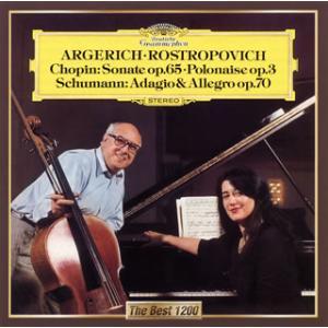 CD)ショパン;チェロ・ソナタ 他 ロストロポーヴィチ(VC) アルゲリッチ(P) (UCCG-5279)|hakucho