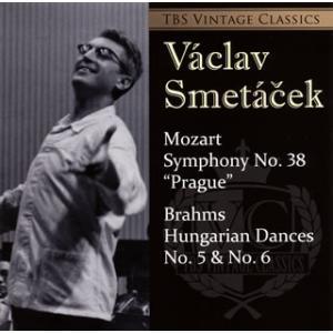 CD)モーツァルト;交響曲第38番「プラハ」/ブラームス;ハンガリー舞曲第5番&第6番 スメターチェク/東京s (TYGE-60018)
