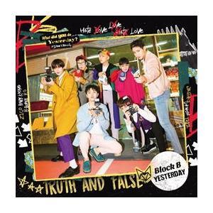 CD)Block B/YESTERDAY(初回出荷限定盤(初回限定盤TYPE-A))(DVD付) (KICM-91753)
