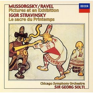 CD)ムソルグスキー/ラヴェル;「展覧会の絵」/ストラヴィンスキー;「春の祭典」 ショルティ/CSO (UCCD-7441)|hakucho