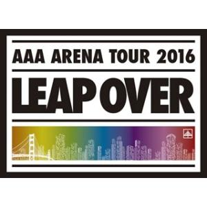 Blu-ray)AAA/AAA ARENA TOUR 2016-LEAP OVER-〈初回限定生産盤〉(初回出荷 (AVXD-92382)