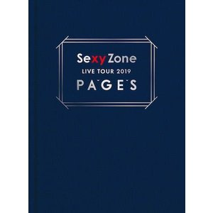 Blu-ray)Sexy Zone/Sexy Zone LIVE TOUR 2019 PAGES〈初回限定盤・2枚組〉( (PCXP-50685)|hakucho