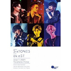 Blu-ray)SixTONES/on eST〈2枚組〉(通常盤) (SEXJ-7)|hakucho