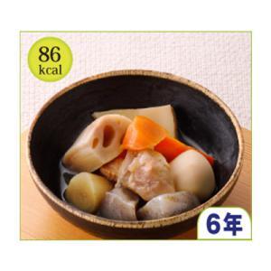 原材料名:こんにゃく、れんこん、竹の子、人参、鶏肉、小芋、ごぼう、醤油、砂糖、還元澱粉糖化物、鰹節エ...