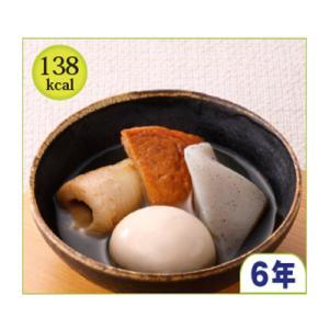 原材料名:具材【魚肉練り製品[竹輪(魚肉、砂糖、その他)、さつま揚げ(魚肉、砂糖、その他)]、ゆで卵...