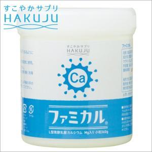 カルシウム ファミカル L型発酵乳酸カルシウム マグネシウム 大360g