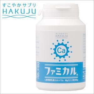 カルシウム ファミカル L型発酵乳酸カルシウム マグネシウム 小105g