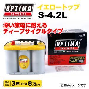 輸入車用 OPTIMA 新品バッテリー 55Ah イエロートップ S-4.2L (8012-254) hakuraishop