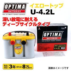 輸入車用 OPTIMA 新品バッテリー 55Ah イエロートップ U-4.2L (8014-254) hakuraishop
