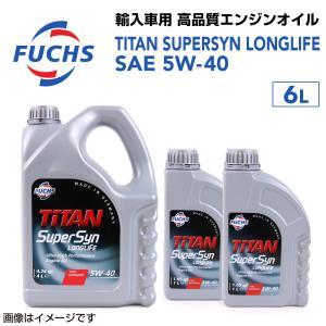 フックス FUCHS エンジンオイル FTSL-5W40-6L 送料無料|hakuraishop