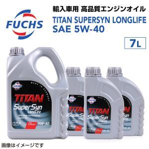 フックス FUCHS エンジンオイル FTSL-5W40-7L 送料無料|hakuraishop