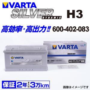 600-402-083 VARTA バッテリー SILVER Dynamic H3 100A 欧州車用 新品保証付|hakuraishop