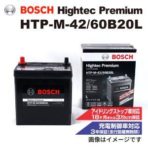BOSCH ハイテックプレミアムバッテリー HTP-M-42/60B20L ダイハツ タント [LA...