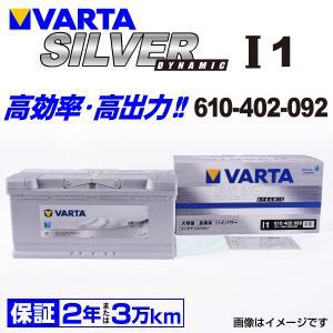 610-402-092 VARTA バッテリー SILVER Dynamic I1 110A 欧州車用 新品保証付 I1 送料無料|hakuraishop