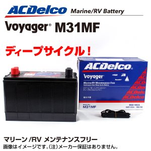 ACデルコ マリン用バッテリー M31MF|hakuraishop