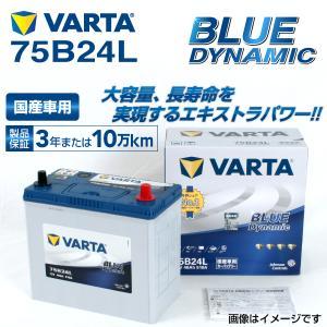 75B24L VARTA バッテリー BLUE Dynamic VB75B24L 国産車用 新品保証付 VB75B24L 送料無料|hakuraishop