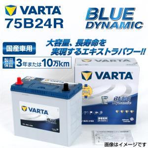75B24R VARTA バッテリー BLUE Dynamic VB75B24R 国産車用 新品保証付 VB75B24R 送料無料|hakuraishop