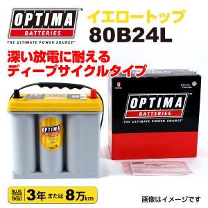 ホンダ S2000 OPTIMA 80B24L バッテリー イエロートップ 保証付 hakuraishop