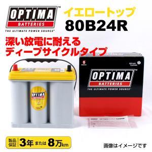 スズキ エブリィ OPTIMA 80B24R バッテリー イエロートップ 保証付 hakuraishop