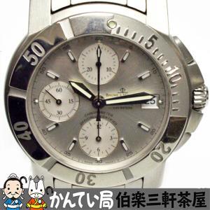 BAUME&MERCIER(ボーム&メルシエ)ケープランド 65366 自動巻き SS シルバー文字盤 メンズ腕時計【中古】|hakuraku78
