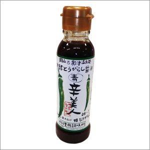 調味料 唐辛子醤油 辛美人発酵とうがらし醤油 (青)