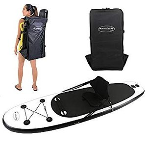 10' Inflatable Stand Up Paddle Board/Kayak and SUP (6 Inches Thick, 32|hal-proshop2