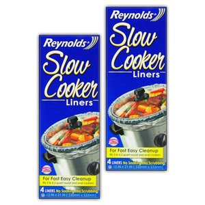 Reynolds Slow Cooker Liners 2 Pack (8 Liners Total...
