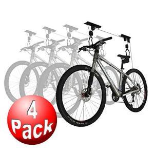 2003 4-Pack RAD Cycle Products Bike Lift Hoist Gar...