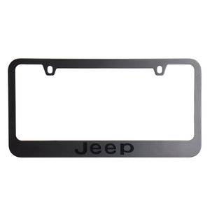 Jeep Stealth Blackout License Plate Frame(ジープステルス停...