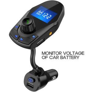 Nulaxy Bluetooth Car FM Transmitter Audio Adapter ...