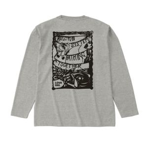 ハル・ロングスリーブTシャツ ヘザーグレー|hal-store