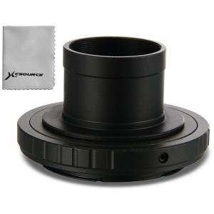 T2リング Nikon DSLR 望遠鏡レンズアダプター カメラ レンズ アダプター リング 1.25インチ 望遠鏡マウント メタル DC616 XCSOURCE halhal