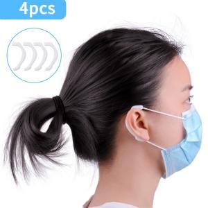 マスク シリコンイヤーフック マスク用 マスクストラップ 耳が痛くならない サポート 補助 繰り返し 洗える 耳フック 耳ホック 痛くない 2色選択可 halhal
