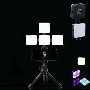 ビデオライト 撮影ライト カメラ iPhone Samsung Canon Nikon Sony Zhiyun Smooth 4 DJI OSMO Mobile 3 Action Gopro 9 5 6 7 8 pro osmo pocket|halhal