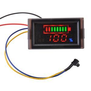 DC12V 24V 36V 48V 60V 72V 84V ボルトメーター 鉛酸蓄電池容量インジケータ MA927 XCSOURCE|halhal