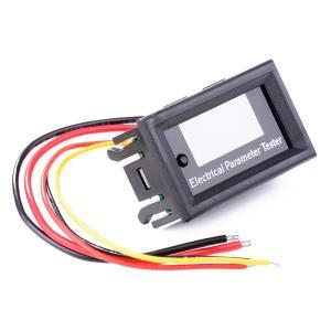 デジタル電流計 電圧計 時間温度計 7in1 DC0-33V 0-3A XCSOURCE|halhal