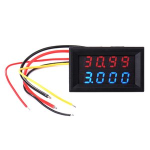 XCSOURCE バッテリーチェッカー デジタル電圧計 電流...