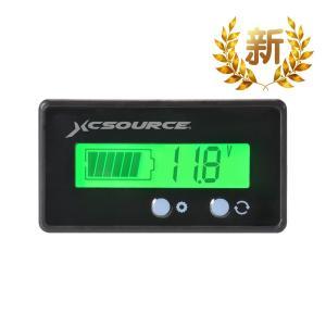 12/24/36/48V 電圧計 バッテリーチェッカー 防水 自動車用 TE620 XCSOURCE
