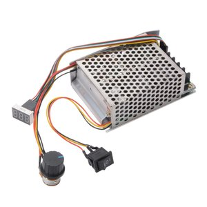 モーター速度コントローラ 電圧レギュレータ PWM 可変 ガバナ LEDディスプレイ デジタルモニタ 12V 24V 36V DC TE952 XCSOURCE halhal