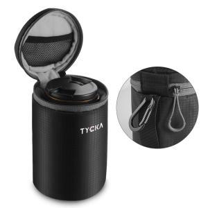 レンズケース 一眼フレ レンズ収納バッグ 10mm厚手 防水&クッション性 レンズポーチ  M L XL Canon Nikon SONY OLYMPUS パナソニック等のレンズに対応 Tycka|halhal